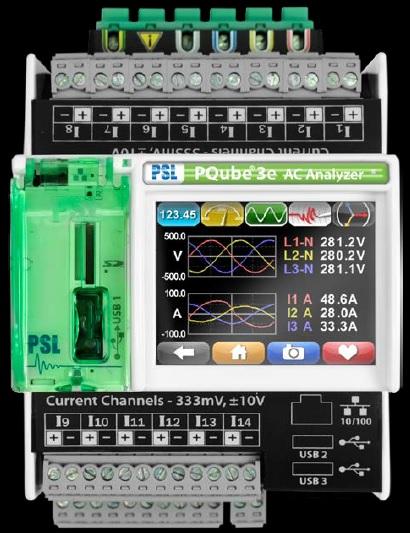 전기품질 및 전력량 측정